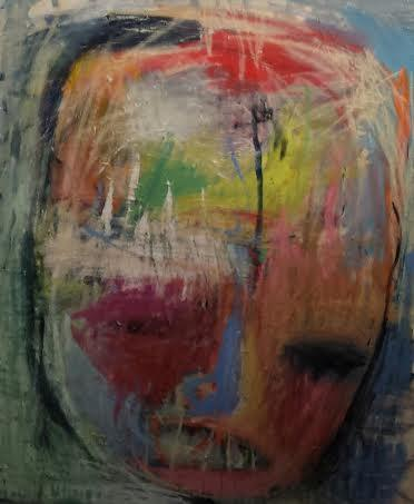 merel droppers head acryl canvas